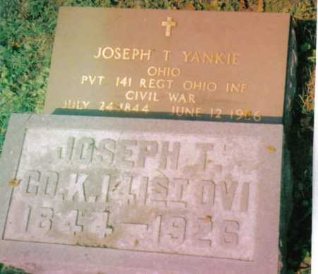 YANKIE, JOSEPH T. - Highland County, Ohio   JOSEPH T. YANKIE - Ohio Gravestone Photos