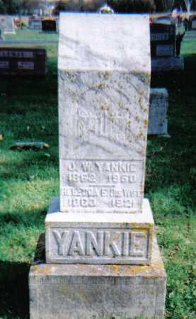 FREEZE YANKIE, REBECCA E. - Highland County, Ohio | REBECCA E. FREEZE YANKIE - Ohio Gravestone Photos