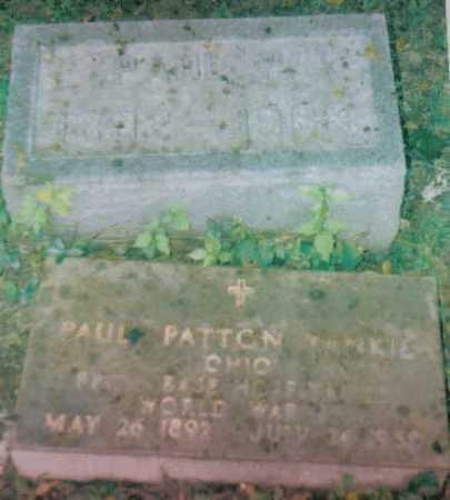 YANKIE, PAUL PATTON - Highland County, Ohio   PAUL PATTON YANKIE - Ohio Gravestone Photos