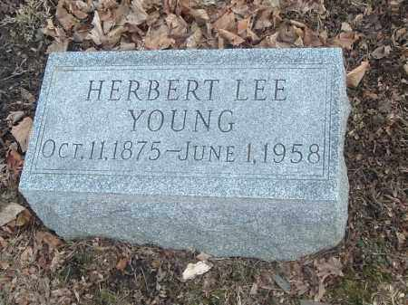 YOUNG, HERBERT LEE - Highland County, Ohio | HERBERT LEE YOUNG - Ohio Gravestone Photos