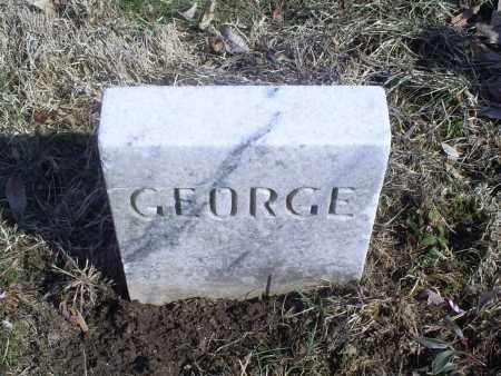 UNKNOWN, GEORGE - Hocking County, Ohio   GEORGE UNKNOWN - Ohio Gravestone Photos