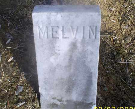 UNKNOWN, MELVIN - Hocking County, Ohio | MELVIN UNKNOWN - Ohio Gravestone Photos