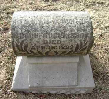 ALLEN, WILLIAM B. - Hocking County, Ohio | WILLIAM B. ALLEN - Ohio Gravestone Photos