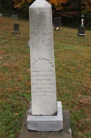 BAINTER, SUSANNAH - Hocking County, Ohio | SUSANNAH BAINTER - Ohio Gravestone Photos