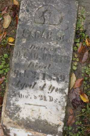 BAINTER, SARAH E. - Hocking County, Ohio | SARAH E. BAINTER - Ohio Gravestone Photos