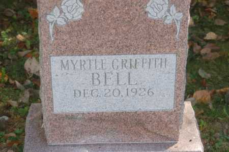 GRIFFITH BELL, MYRTLE - Hocking County, Ohio | MYRTLE GRIFFITH BELL - Ohio Gravestone Photos