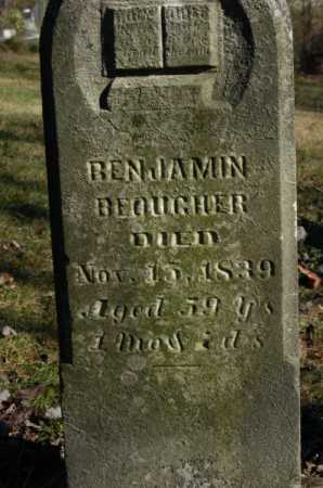 BEOUGHER, BENJAMIN - Hocking County, Ohio | BENJAMIN BEOUGHER - Ohio Gravestone Photos