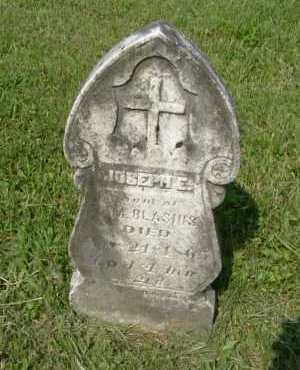 BLASIUS, JOSEPH E. - Hocking County, Ohio | JOSEPH E. BLASIUS - Ohio Gravestone Photos