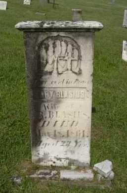 BLASIUS, MARY - Hocking County, Ohio | MARY BLASIUS - Ohio Gravestone Photos