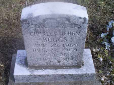 BOGGS, CHARLES TERRY - Hocking County, Ohio | CHARLES TERRY BOGGS - Ohio Gravestone Photos