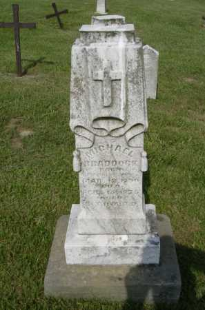 BRADDOCK, MICHAEL - Hocking County, Ohio | MICHAEL BRADDOCK - Ohio Gravestone Photos