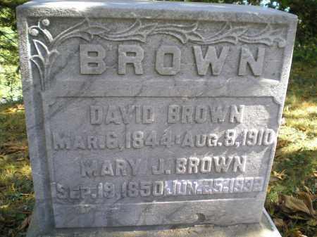 ARCHER BROWN, MARY JANE - Hocking County, Ohio | MARY JANE ARCHER BROWN - Ohio Gravestone Photos