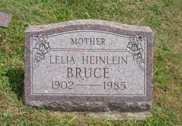 HEINLEIN BRUCE, LELIA - Hocking County, Ohio | LELIA HEINLEIN BRUCE - Ohio Gravestone Photos