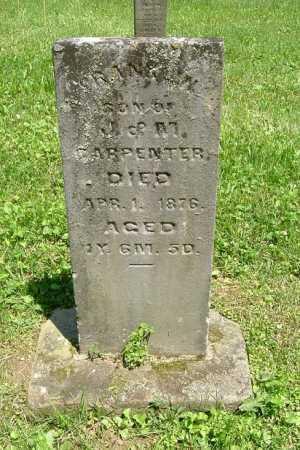 CARPENTER, FRANKLIN - Hocking County, Ohio | FRANKLIN CARPENTER - Ohio Gravestone Photos