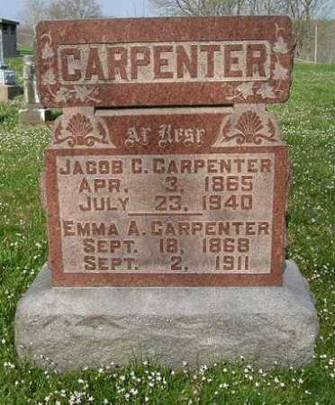 CARPENTER, EMMA A. - Hocking County, Ohio | EMMA A. CARPENTER - Ohio Gravestone Photos