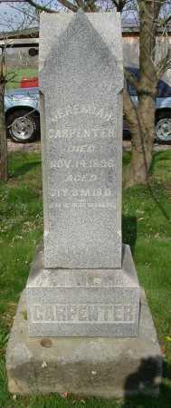 CARPENTER, JEREMIAH - Hocking County, Ohio | JEREMIAH CARPENTER - Ohio Gravestone Photos
