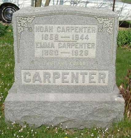 VORIS CARPENTER, EMMA - Hocking County, Ohio   EMMA VORIS CARPENTER - Ohio Gravestone Photos