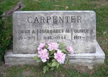 CARPENTER, MARGARET M. - Hocking County, Ohio | MARGARET M. CARPENTER - Ohio Gravestone Photos