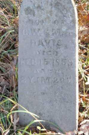 DAVIS, ALFRED - Hocking County, Ohio | ALFRED DAVIS - Ohio Gravestone Photos