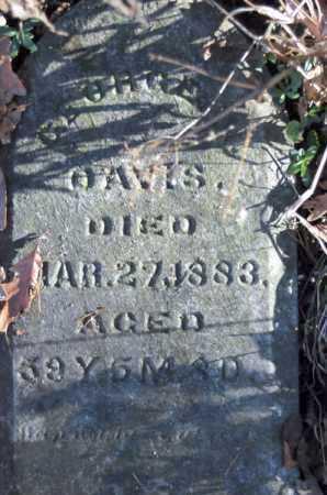 DAVIS, GEORGE W - Hocking County, Ohio | GEORGE W DAVIS - Ohio Gravestone Photos