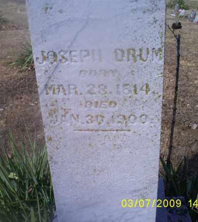 DRUM, JOSEPH - Hocking County, Ohio | JOSEPH DRUM - Ohio Gravestone Photos