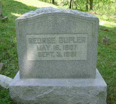 DUPLER, GEORGE - Hocking County, Ohio   GEORGE DUPLER - Ohio Gravestone Photos