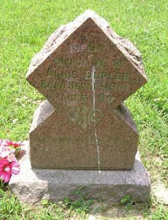 DUPLER, INFANT SON - Hocking County, Ohio | INFANT SON DUPLER - Ohio Gravestone Photos