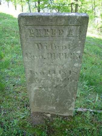 DUPLER, PHEBE A. - Hocking County, Ohio | PHEBE A. DUPLER - Ohio Gravestone Photos