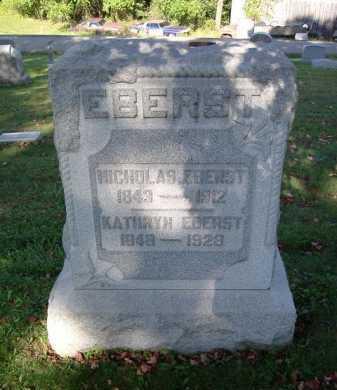 EBERST, KATHRYN - Hocking County, Ohio | KATHRYN EBERST - Ohio Gravestone Photos