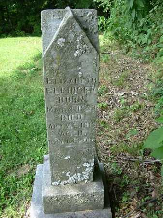 ELLINGER, ELIZABETH - Hocking County, Ohio | ELIZABETH ELLINGER - Ohio Gravestone Photos