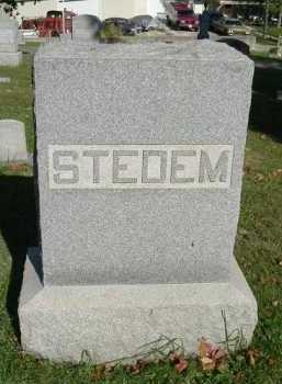 FAMILY, STEDEM - Hocking County, Ohio | STEDEM FAMILY - Ohio Gravestone Photos
