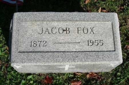 FOX, JACOB - Hocking County, Ohio | JACOB FOX - Ohio Gravestone Photos