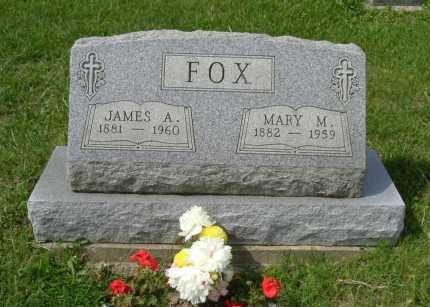 FOX, JAMES A. - Hocking County, Ohio | JAMES A. FOX - Ohio Gravestone Photos