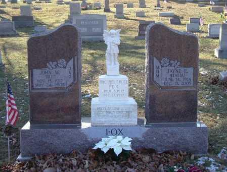 FOX, JAYNE ELIZABETH - Hocking County, Ohio | JAYNE ELIZABETH FOX - Ohio Gravestone Photos
