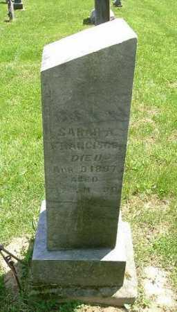 FRANCISCO, SARAH A. - Hocking County, Ohio | SARAH A. FRANCISCO - Ohio Gravestone Photos