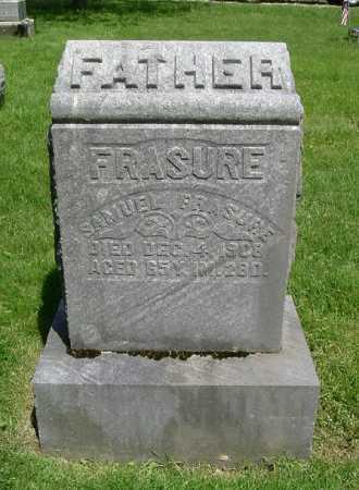 FRASURE, SAMUEL - Hocking County, Ohio | SAMUEL FRASURE - Ohio Gravestone Photos