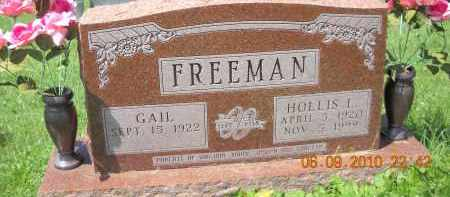FREEMAN, HOLLIS - Hocking County, Ohio | HOLLIS FREEMAN - Ohio Gravestone Photos
