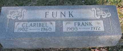 FUNK, CLARIBEL - Hocking County, Ohio   CLARIBEL FUNK - Ohio Gravestone Photos