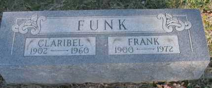 FUNK, CLARIBEL - Hocking County, Ohio | CLARIBEL FUNK - Ohio Gravestone Photos
