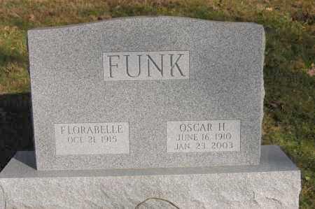 FUNK, FLORABELLE - Hocking County, Ohio | FLORABELLE FUNK - Ohio Gravestone Photos