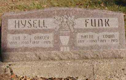 HYSELL, OAKLEY - Hocking County, Ohio | OAKLEY HYSELL - Ohio Gravestone Photos