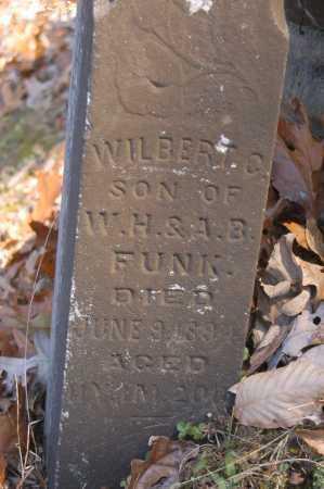 FUNK, WILBERT CLARENCE - Hocking County, Ohio | WILBERT CLARENCE FUNK - Ohio Gravestone Photos