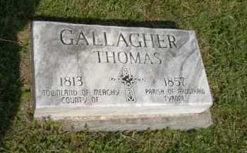 GALLAGHER, THOMAS - Hocking County, Ohio | THOMAS GALLAGHER - Ohio Gravestone Photos