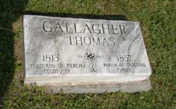 GALLAGHER, THOMAS - Hocking County, Ohio | THOMAS GALLAGHER - Ohio Gravestone Photos