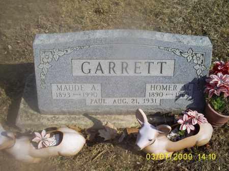 GARRETT, PAUL - Hocking County, Ohio   PAUL GARRETT - Ohio Gravestone Photos
