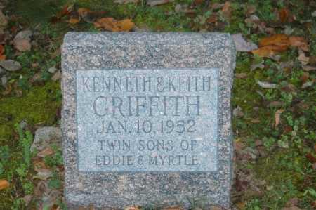 GRIFFITH, KENNETH - Hocking County, Ohio | KENNETH GRIFFITH - Ohio Gravestone Photos