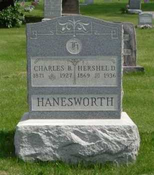 HANESWORTH, CHARLES B. - Hocking County, Ohio | CHARLES B. HANESWORTH - Ohio Gravestone Photos