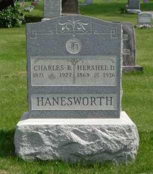 HANESWORTH, HERSHEL D. - Hocking County, Ohio | HERSHEL D. HANESWORTH - Ohio Gravestone Photos