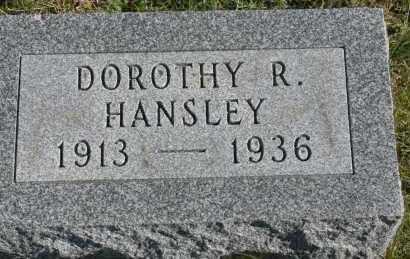 HANSLEY, DOROTHY R - Hocking County, Ohio | DOROTHY R HANSLEY - Ohio Gravestone Photos