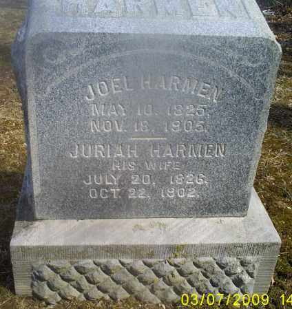 HARMEN, JURIAH - Hocking County, Ohio | JURIAH HARMEN - Ohio Gravestone Photos